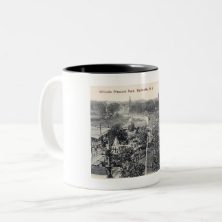 Hillside Pleasure Park, Trolley, Belleville NJ Two-Tone Coffee Mug