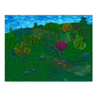 Hillside Retreat Postcard