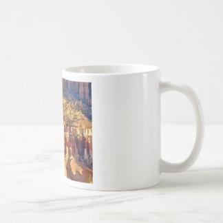 hillside rock formations coffee mug