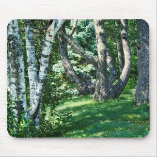 Hillside Trees Mouse Pad