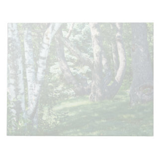 Hillside Trees Notepad