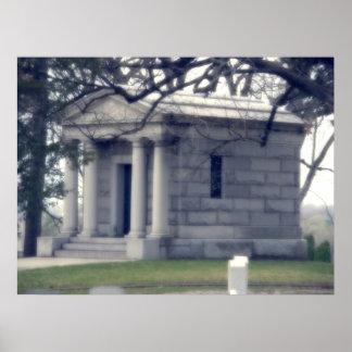 Hilltop Mausoleum Poster