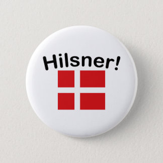 Hilsner! (Greetings!) 2 Inch Round Button