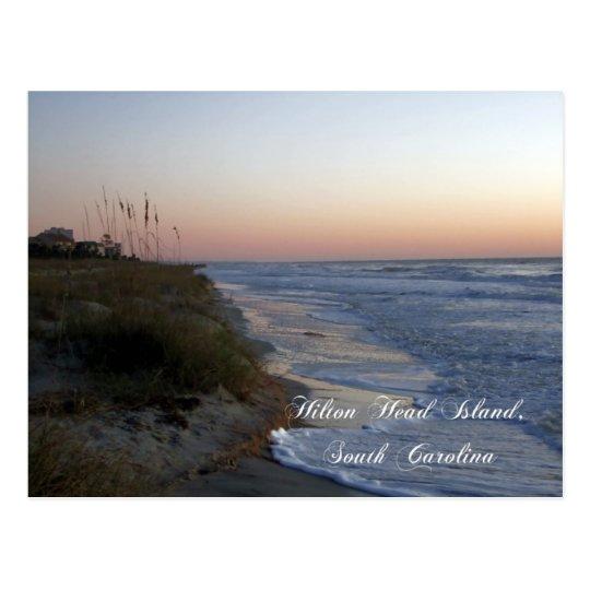 Hilton Head Island Beach Postcard