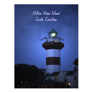 Hilton Head Island Lighthouse in South Carolina Postcard