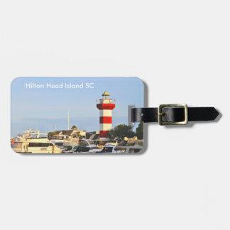 Hilton Head Island Lighthouse on luggage tag