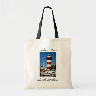 Hilton Head, SC  Harbour Town Lighthouse Tote Bag