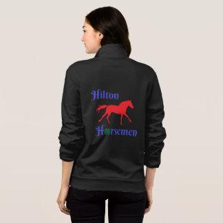 Hilton Horsemen- zip up warm up- Womens