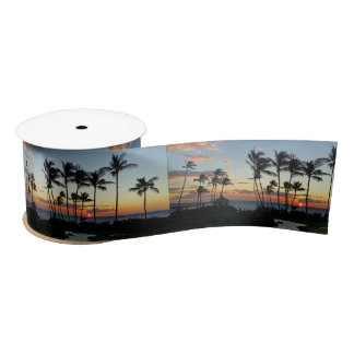 Hilton Sunset Satin Ribbon