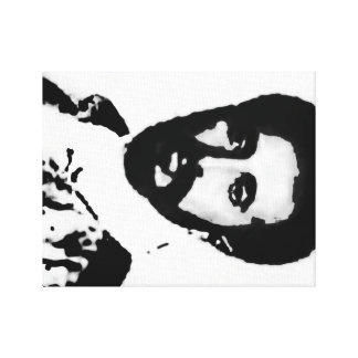 HIM Haile Selassie I Canvas Print