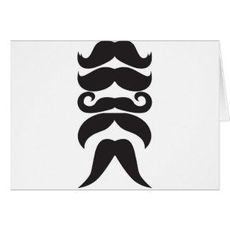Him Moustache Card
