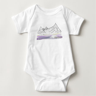 Himalaya Mountains / Himalayas Baby Bodysuit