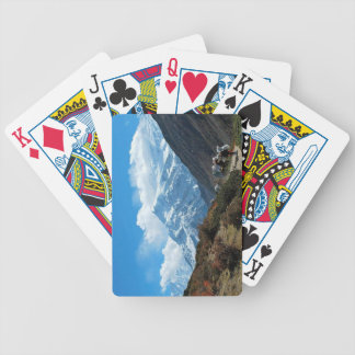 Himalaya Nepal India Mountains Tourism Bicycle Playing Cards