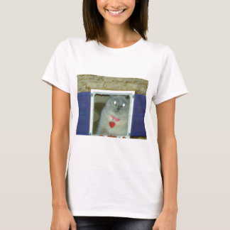Himalayan Cat Kitty Hat, tee, mousepad, gift, cute T-Shirt