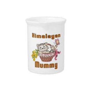 Himalayan Cat Mom Beverage Pitcher