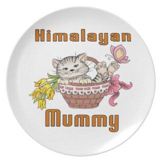 Himalayan Cat Mom Dinner Plate