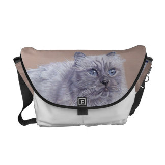 Himalayan Cat Rickshaw Messenger Bag