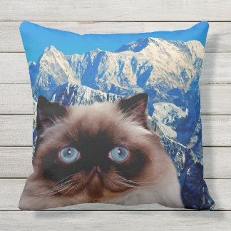 Himalayan Cat Throw Pillow