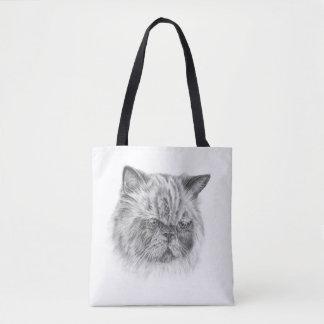 Himalayan Cat Tote Bag