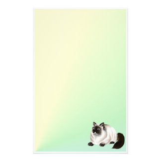 Himalayan Kitty 2 Stationery