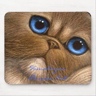HIMALAYAN PERSIAN CAT Mousepad