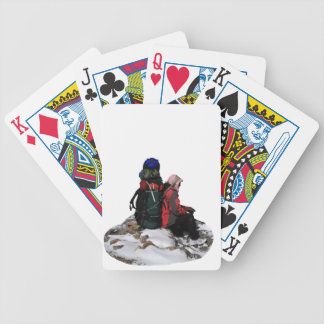 Himalayan Porter, Nepal Bicycle Playing Cards