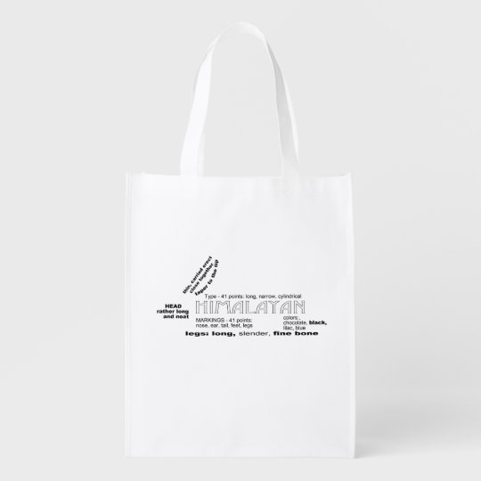 Himalayan Rabbit Reusable Bag Grocery Bags