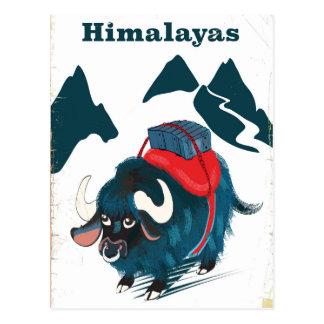 Himalayas Vintage travel poster Postcard