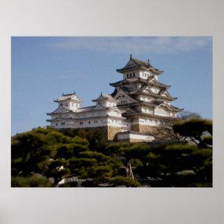 Himeji Castle Poster