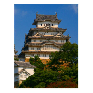 himeji castle up postcard