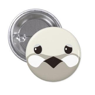 himeuzura (silver) - Quail (silver) 1 Inch Round Button