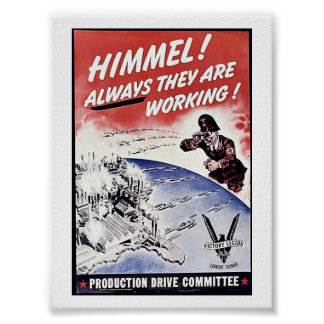 Himmel! Akways They Are Working ! Poster