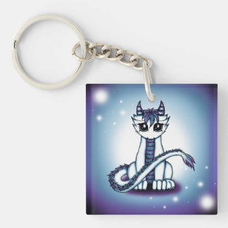 Himmelsdrache Double-Sided Square Acrylic Keychain