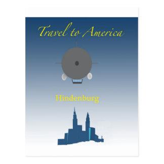 Hindenburg Postcard
