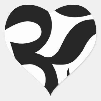 hindu3 heart sticker