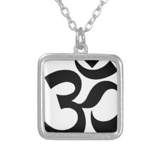 hindu3 silver plated necklace
