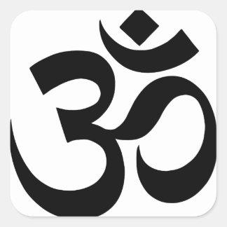 hindu3 square sticker