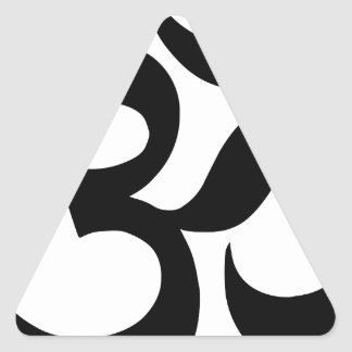 hindu3 triangle sticker