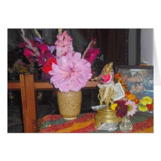 Hindu Alter Card