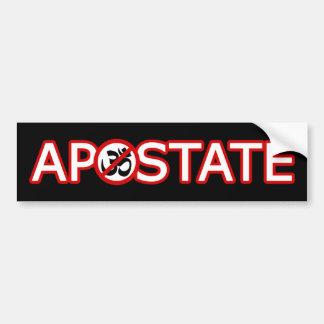 Hindu Apostate Bumper Sticker