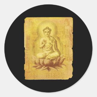 Hindu Buddha Round Sticker