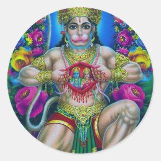 Hindu Deity Series Round Sticker