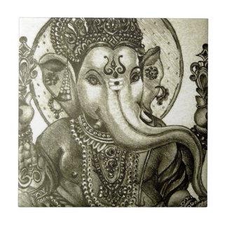 HINDU ELEPHANT GOD CERAMIC TILES