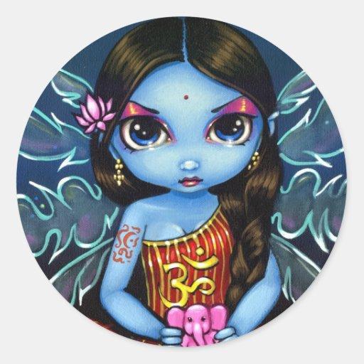 """Hindu Fairy"" Sticker"