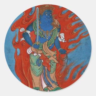 Hindu Folklore Round Sticker
