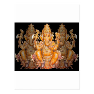 Hindu God Ganesh Postcard