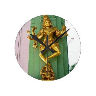 Hindu god wall clock