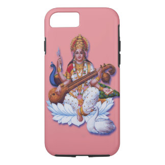 Hindu Goddess Saraswati apple iphone hard case