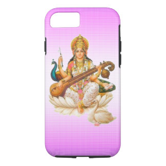 hindu godess sarswati ma apple iPhone7 case design