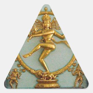 Hindu gods, Shiva Triangle Sticker